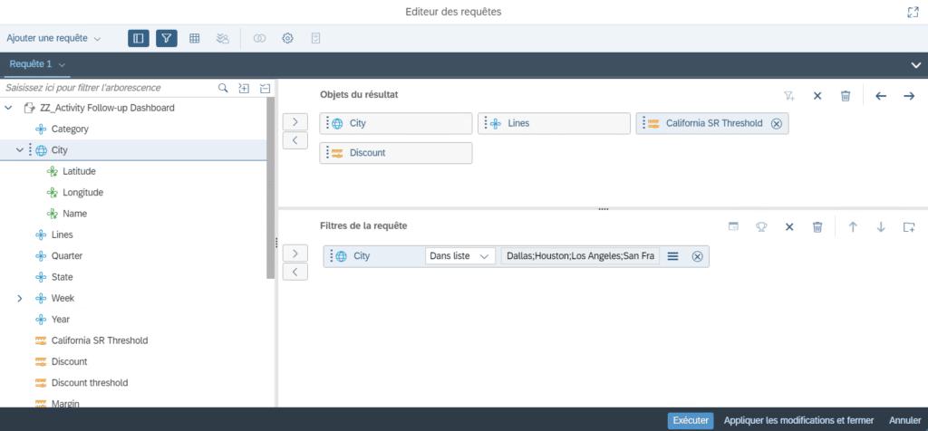 Utiliser un document Web Intelligence ( Webi ) en tant que source de données